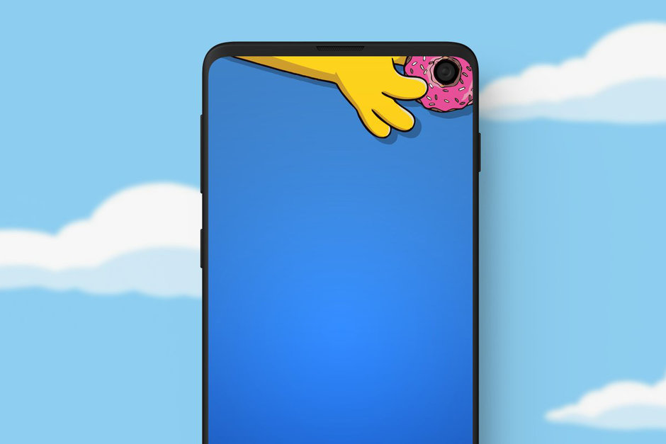 Hide Galaxy S10 hole Punch Camera! How to do it?