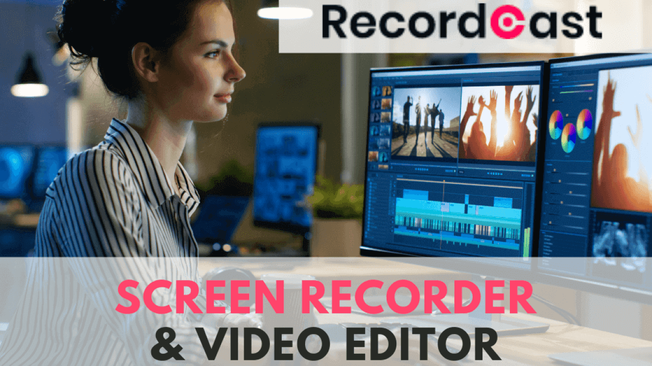 RecordCast | an Easy and Free Online Computer Screen Recorder